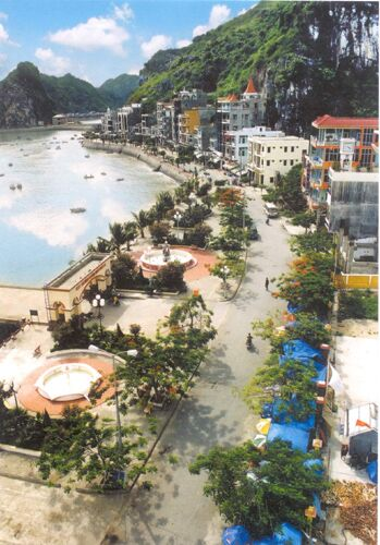 Cat Ba Beach in Hai Phong